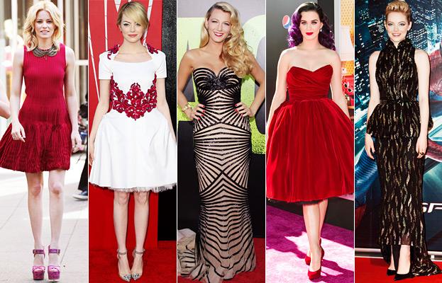 Elizabeth Banks, Emma Stone, Blake Lively, Katy Perry
