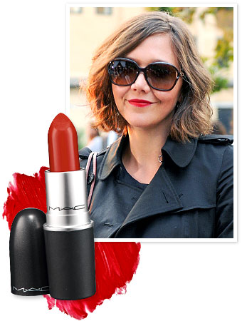Maggie Gyllenhaal - MAC Ruby Woo