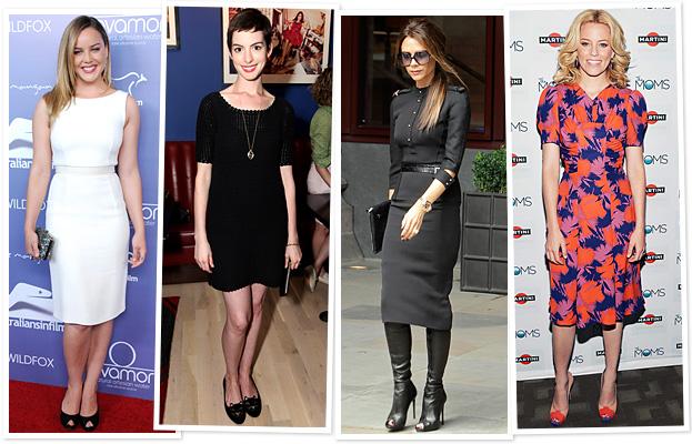 Abbie Cornish, Anne Hathaway, Victoria Beckham, Elizabeth Banks
