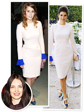 Princess Beatrice, Marisa Tomei, Roksanda Ilincic