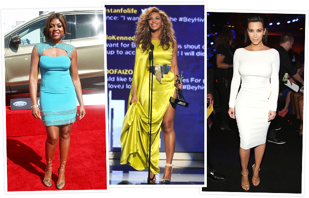BET Awards 2012, Angela Bassett, Selita Ebanks, Kerry Washington
