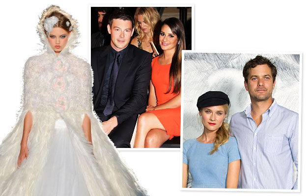 Chanel, Lea Michele, Cory Monteith