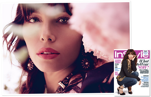 Jessica Biel InStyle August cover