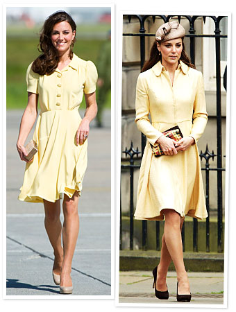 Kate Middleton in Yellow