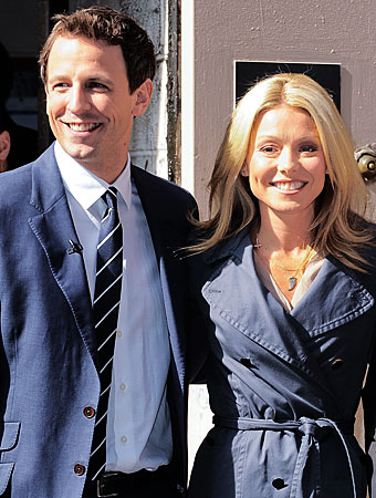 Seth Meyers, Kelly Ripa