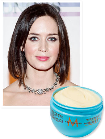 Emily Blunt Hair Care