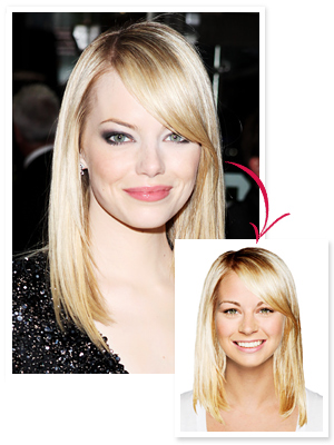 Emma Stone Hollywood Makeover