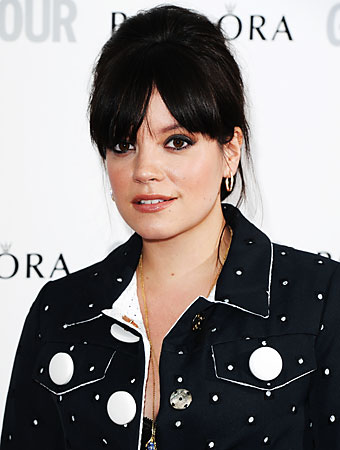 Lily Allen pregnant David Fisher/Rex /Rex USA