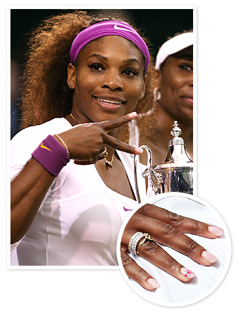 Serena Williams Manicure
