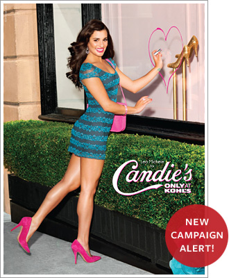 Lea Michele, Candie's