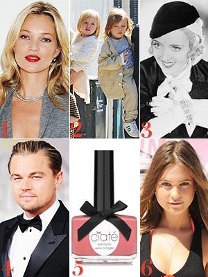 Kate Moss, Jolie-Pitt twins