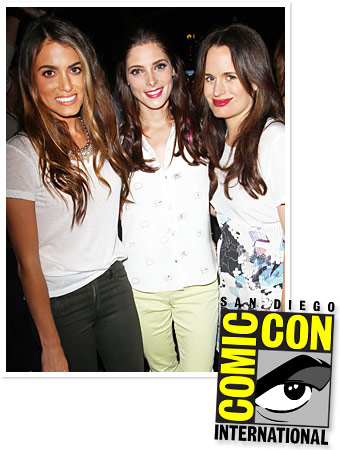 Nikki Reed, Ashley Greene, Elizabeth Reaser
