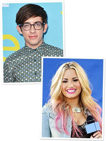 Demi Lovato, Kevin McHale