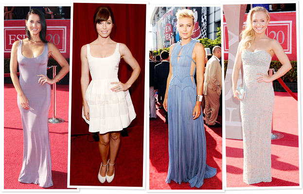ESPY Awards, Olivia Munn, Jessica Biel, Maria Sharapova, Hayden Panettiere
