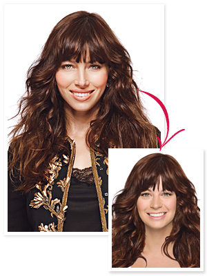 Jessica Biel hair