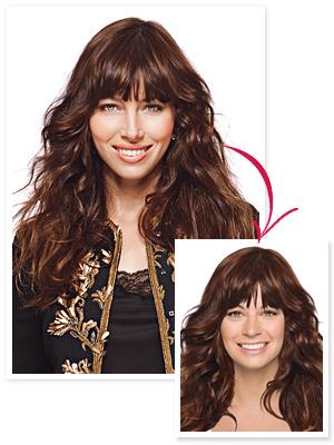 Jessica Biel hair
