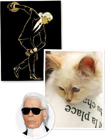 Karl Lagerfeld, Choupette