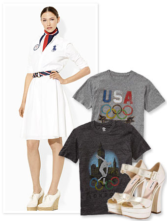 2012 Olympics, Ralph Lauren, Gap, Miu Miu