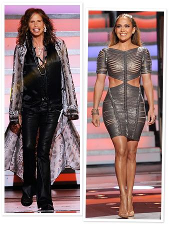 Steven Tyler, Jennifer Lopez, American Idol