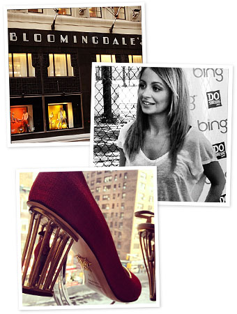 Bloomingdales, Nicole Richie, Charlotte Olympia