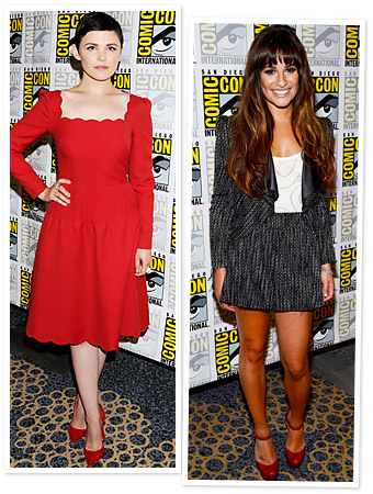 Ginnifer Goodwin, Lea Michele