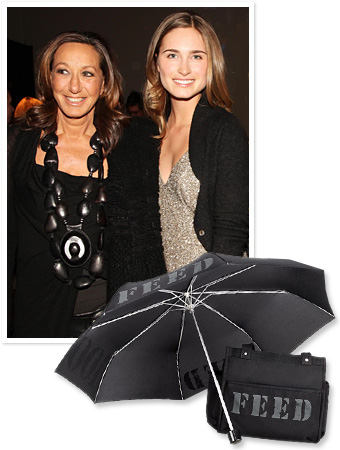 Donna Karan and Lauren Bush