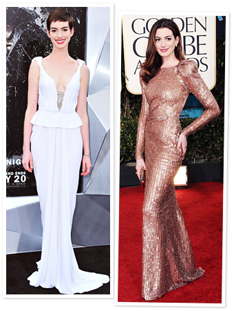 Anne Hathaway Best Looks