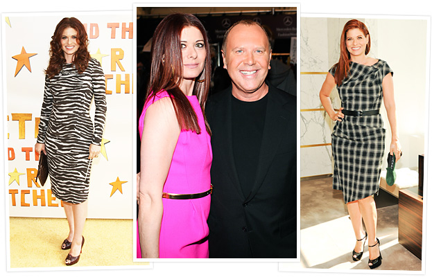 Debra Messing, Michael Kors