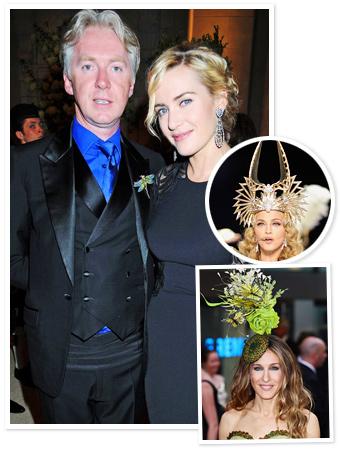Philip Treacy, Kate Winslet, Madonna, Sarah Jessica Parker