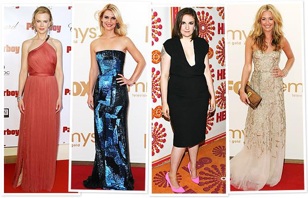 Nicole Kidman, Claire Danes, Lena Dunham, Cat Deeley