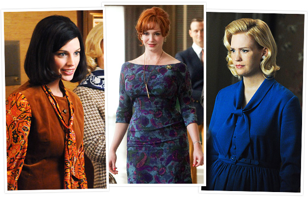 Mad Men, Jessica Pare, Christina Hendricks, January Jones