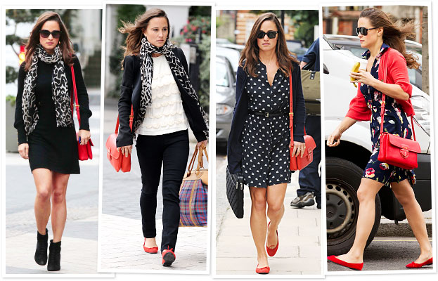 Pippa Middleton Red Bag