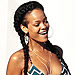 Celebrity Bikinis: Rihanna's Mix and Match Two-Piece