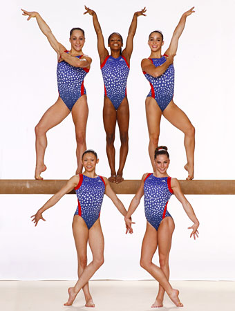 Olympics 2012: Who's on the USA Gymnastics Team : InStyle.com What's