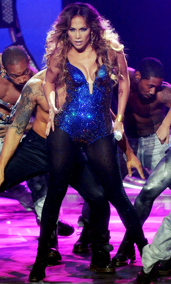 Jennifer Lopez leotard