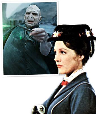 Olympics, Mary Poppins, Voldemort