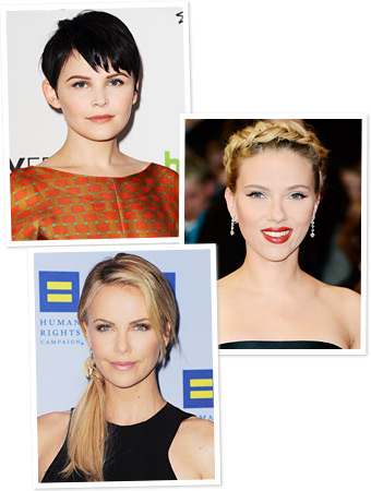 Ginnifer Goodwin, Charlize Theron, Scarlett Johansson