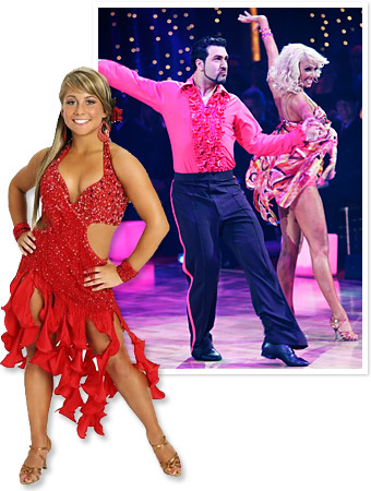 Shawn Johnson, Joey Fatone