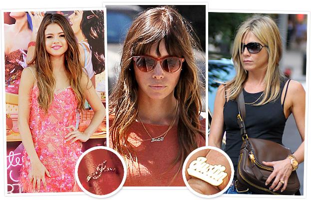 Selena Gomez, Jessica Biel, Jennifer Aniston