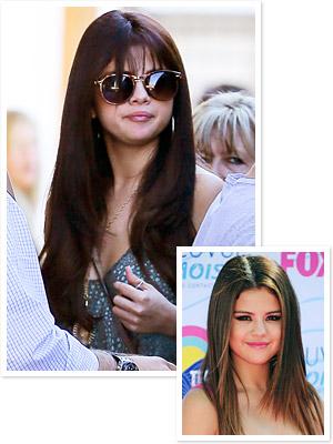 Selena Gomez - New Hair - Bangs