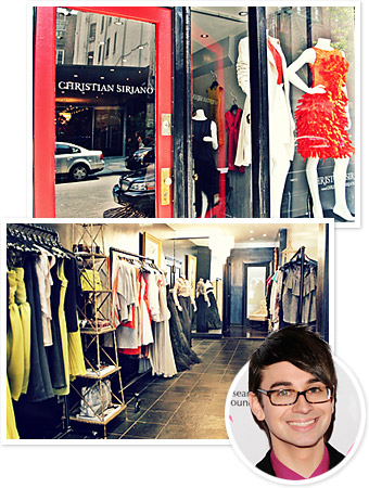 Christian Siriano store