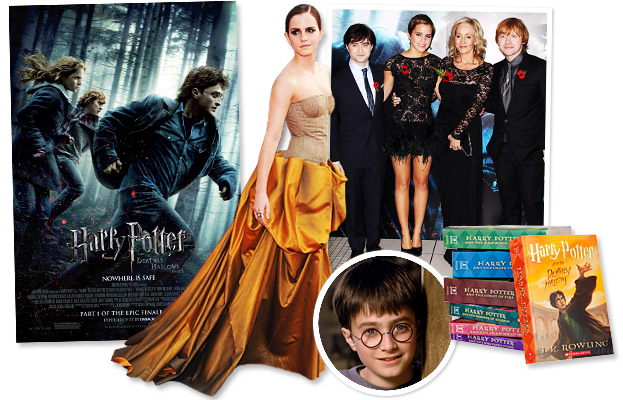 Harry Potter, Daniel Radcliffe, Emma Watson