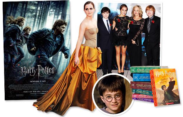 Harry Potter, Daniel Radcliffe, Emma Watson