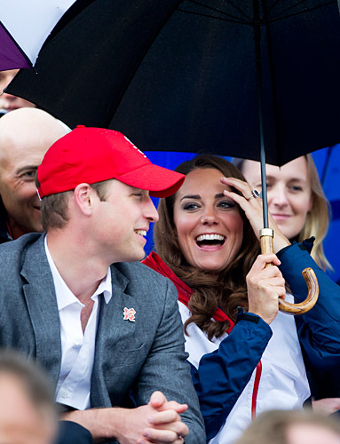Prince William, Kate Middleton, Olympics
