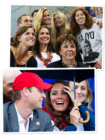 Prince William, Kate Middleton, Bar Rafaeli, Shaun White
