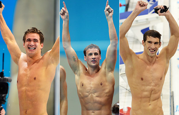 Male Swimmers