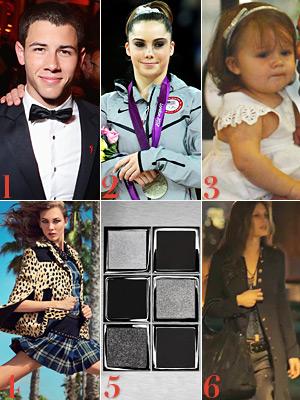 Nick Jonas, McKayla Maroney, Harper Beckham