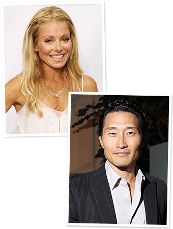 Kelly Ripa, Daniel Dae Kim