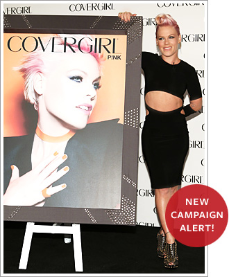 P!nk for Covergirl