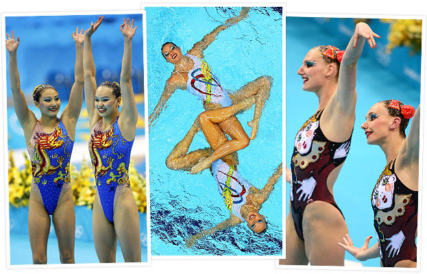Olympics Synchronized Swimmers